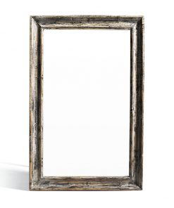 Lustro drewniane o szerokości około 7 cmwykonane ze starego drewna z możliwością pomalowania ramy na wybrany z galerii kolor.