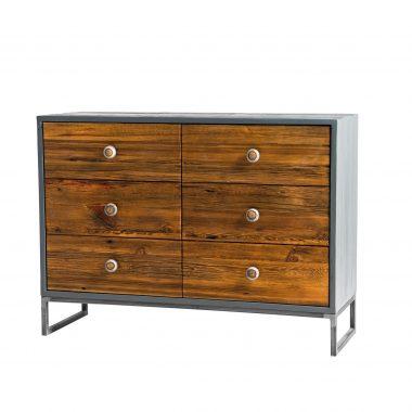 Funkcjonalność i elegancja – tak można określić ten wspaniały mebel z naszej kolekcji, jakim jest komoda Fort.