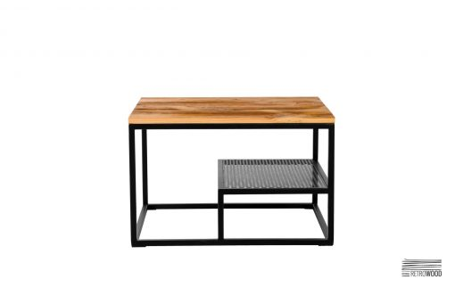 Urokliwy stolik kawowy Modro, to mebel, nie tylko unikalny, ale również funkcjonalny i prosty w swojej formie. Do salonu lub biura.