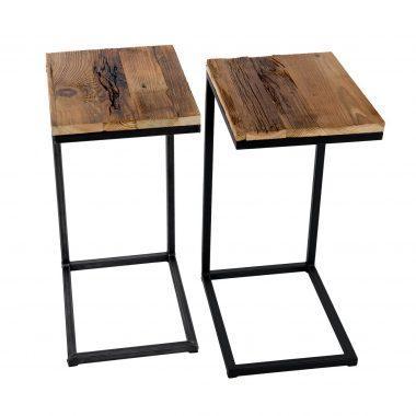 Drewniany stolik nad kanapę, to jednocześnie piękna ozdoba oraz mebel praktyczny. Można wykorzystać go jako stolik kawowy, miejsce na książkę czy laptopa.